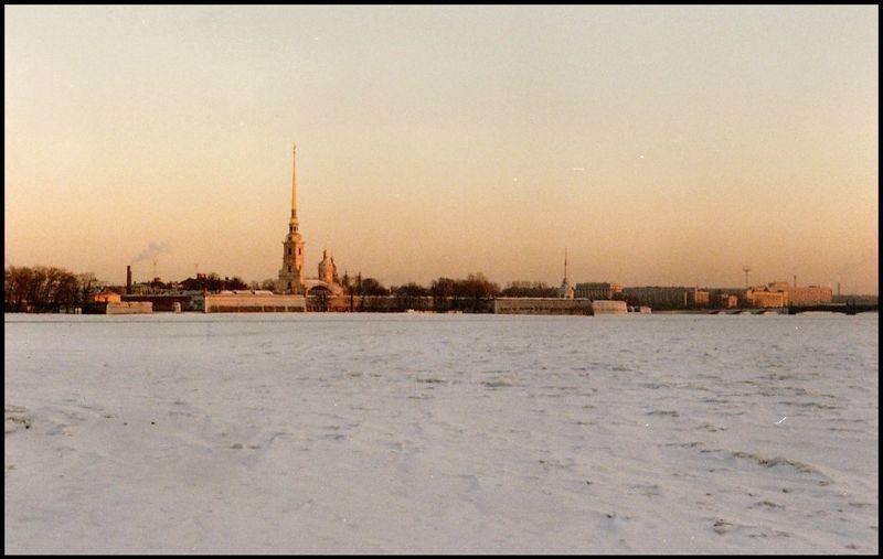 Ленинград, Петропавловская крепость, 1988 год
