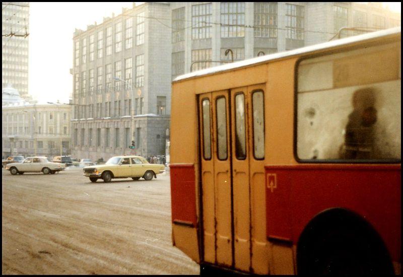 Москва, улица Горького, 1988 год