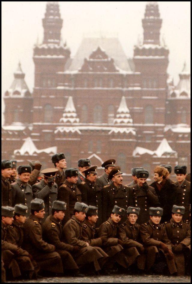 Москва, Красная площадь, 1988 год