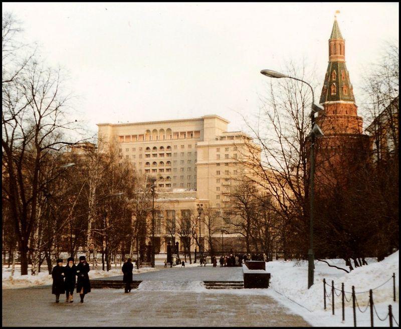Москва, Площадь Революции, 1988 год
