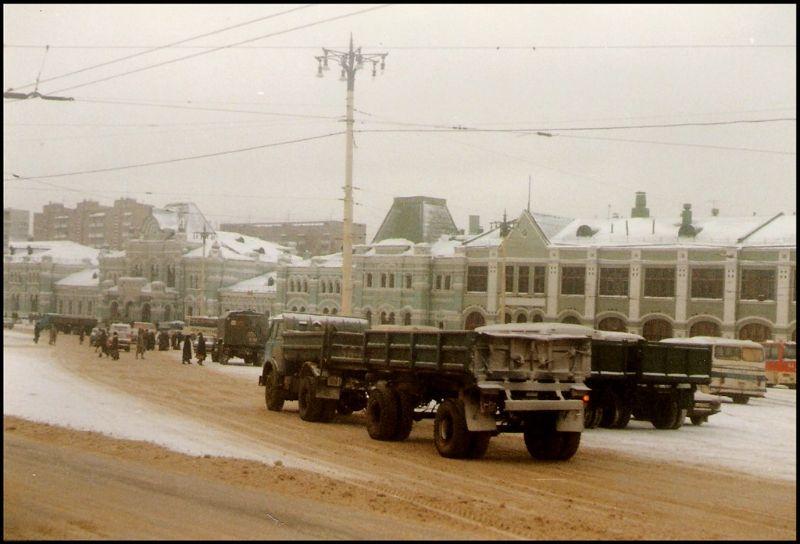 Москва, Рижский вокзал, 1988 год