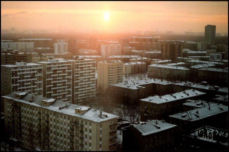 Москва, 1988 год