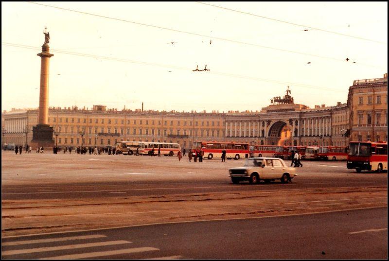 Ленинград, Дворцовая площадь, 1985 год