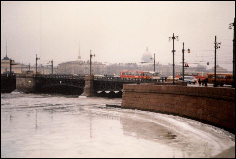 Ленинград, центр города, 1985 год