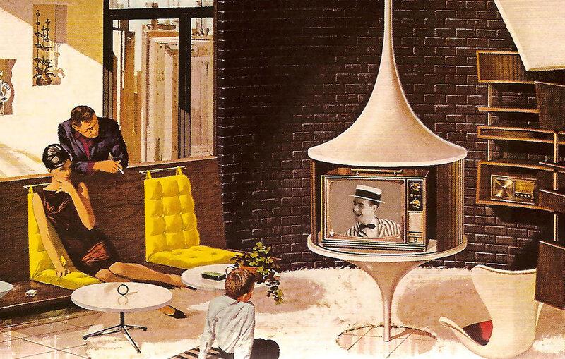 Дома будущего: взгляд в прошлое на потрясающую рекламу Motorola 60-х