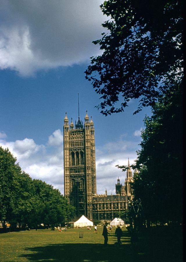 Фотографии Лондона в 1950-х годах