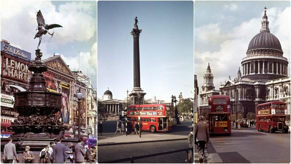 Лондон в 1950-е годы