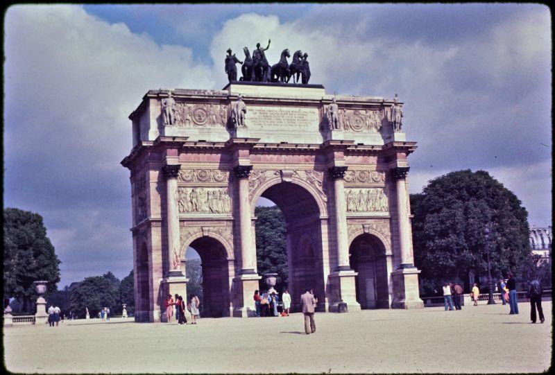 Фотографии Парижа конца 1970-х годов