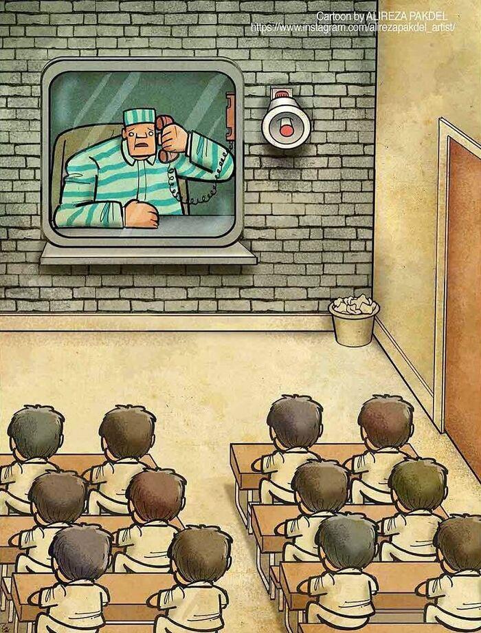 Проблемы современного мира в иллюстрациях