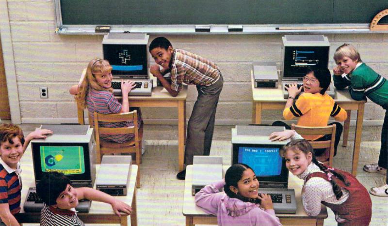 Старая реклама компьютеров 1980-х годов