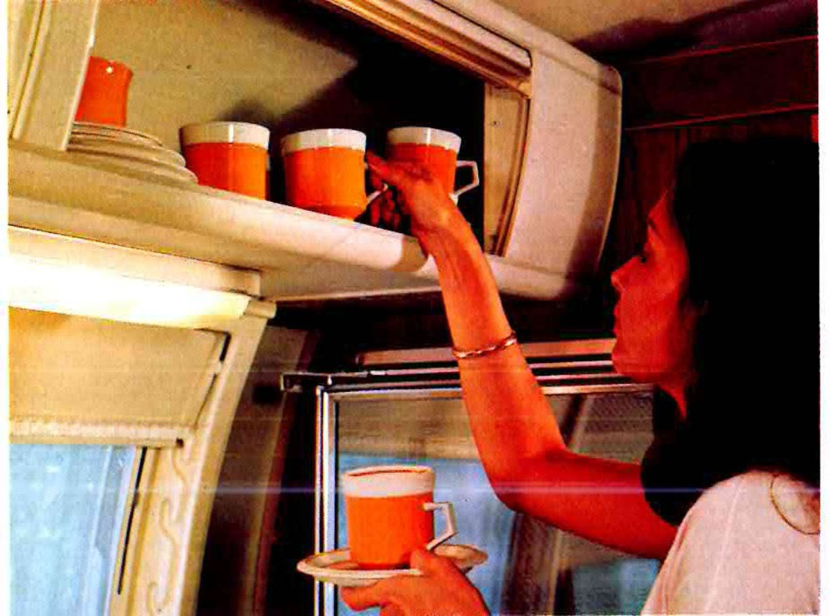 Трейлер Airstream 1970-х годов