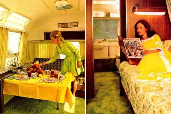 Загляните внутрь трейлера Airstream 1970-х годов