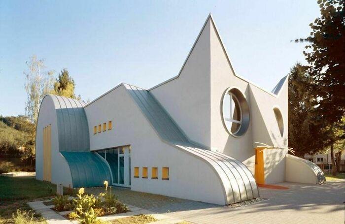 Детский сад в форме кошки, Германия