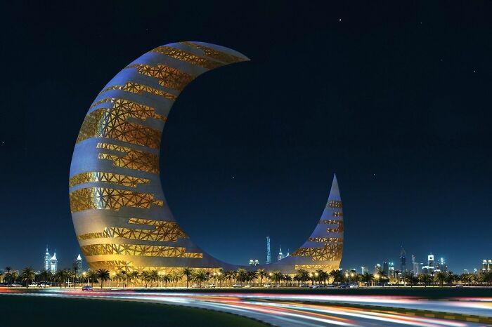 Башня Полумесяца, Дубай, ОАЭ