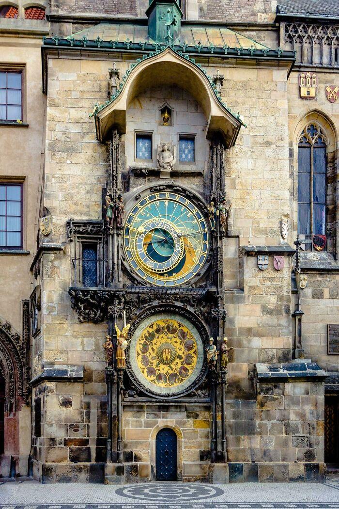 600-летние часы в Праге