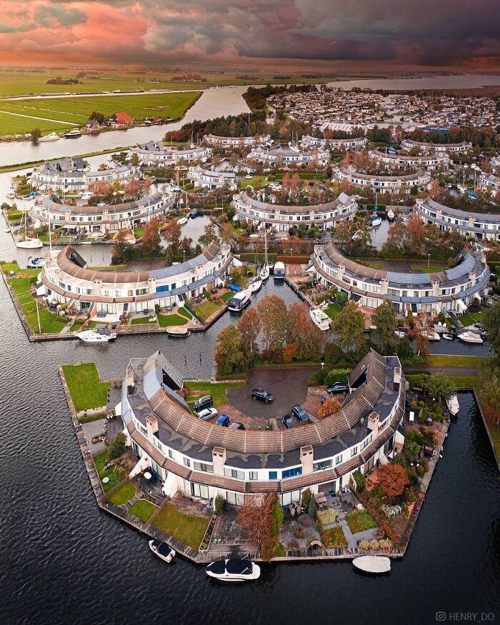 Уникальный квартал в Нидерландах