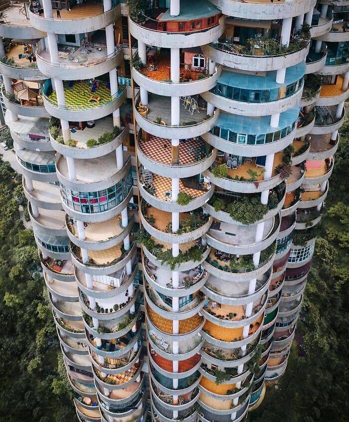 Здание в Гуйчжоу, Китай