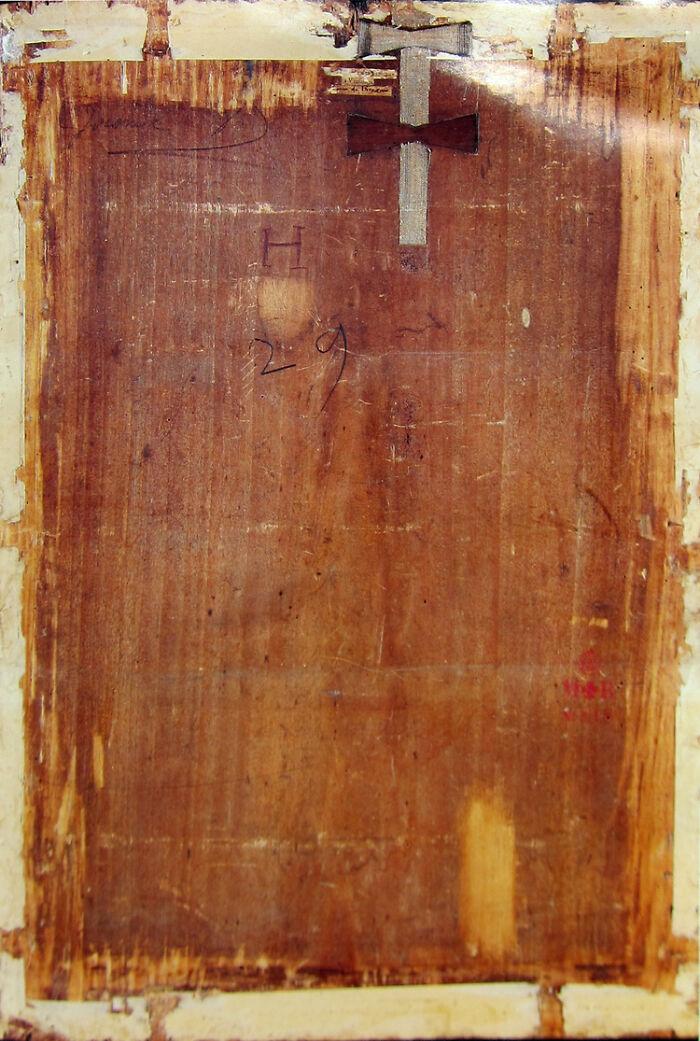 Задняя панель Моны Лизы