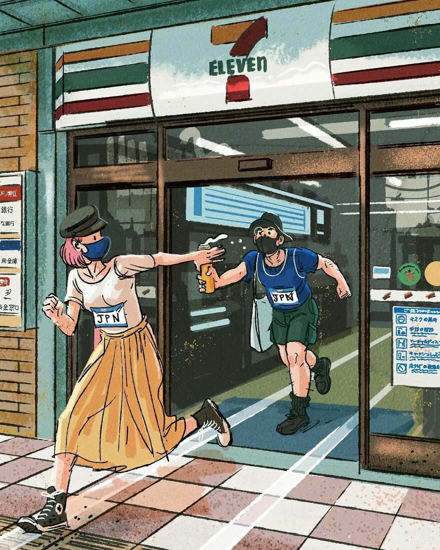 Повседневные Олимпийские игры простых людей