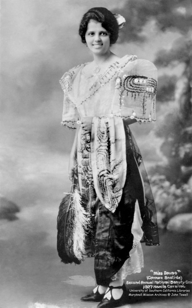 Портреты женщин Манилы начала ХХ века