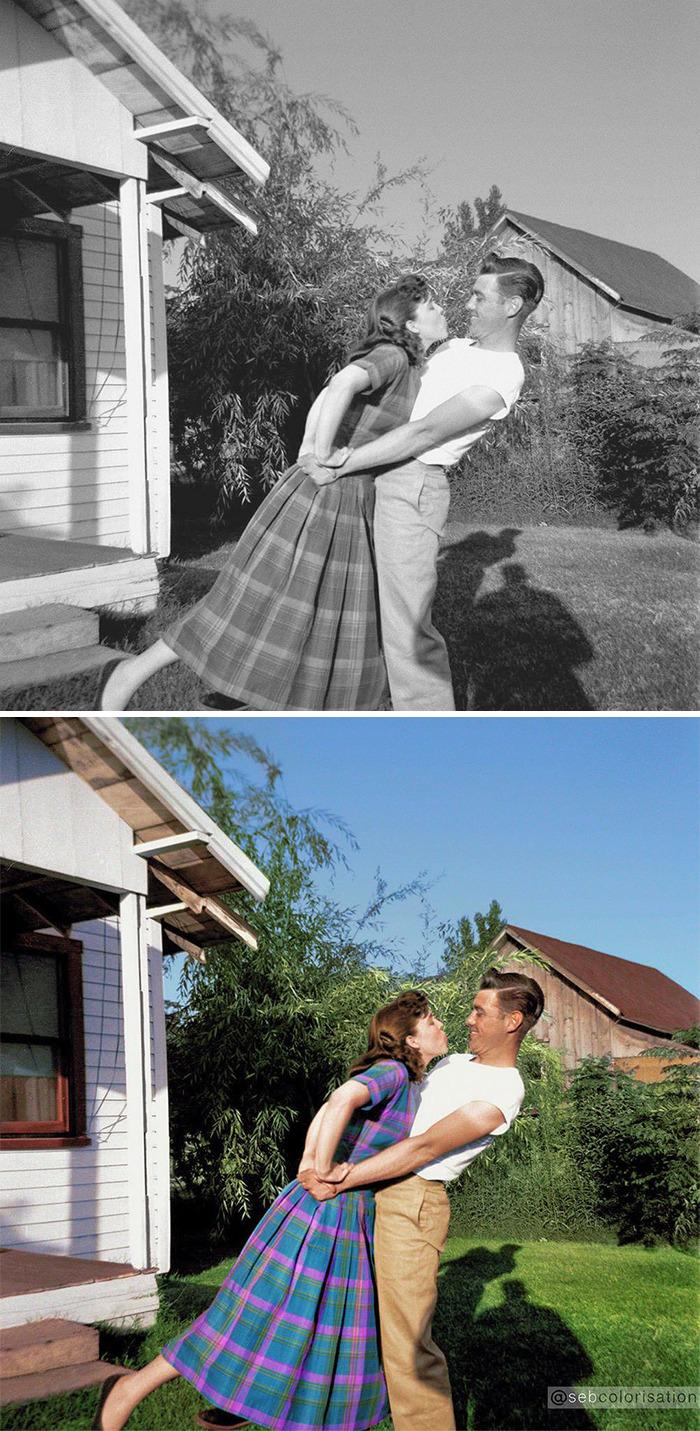 Счастливая пара, 1948 год