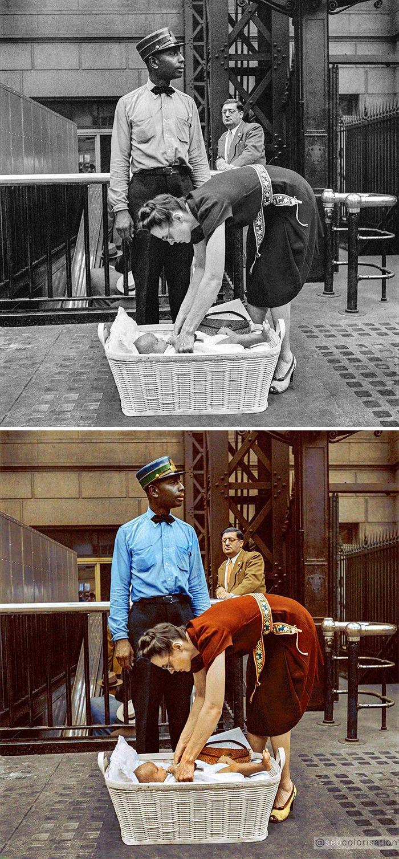 Нью-Йорк, 1942 год