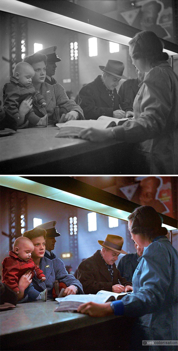 Станция Union Station, Чикаго, США, 1943 год