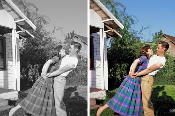 Раскрашенные старые фотографии, которые могут изменить ваше восприятие истории