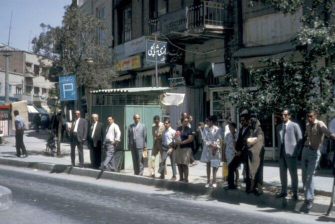 Винтажные снимки жизни в Тегеране, Иран, в 1967 году