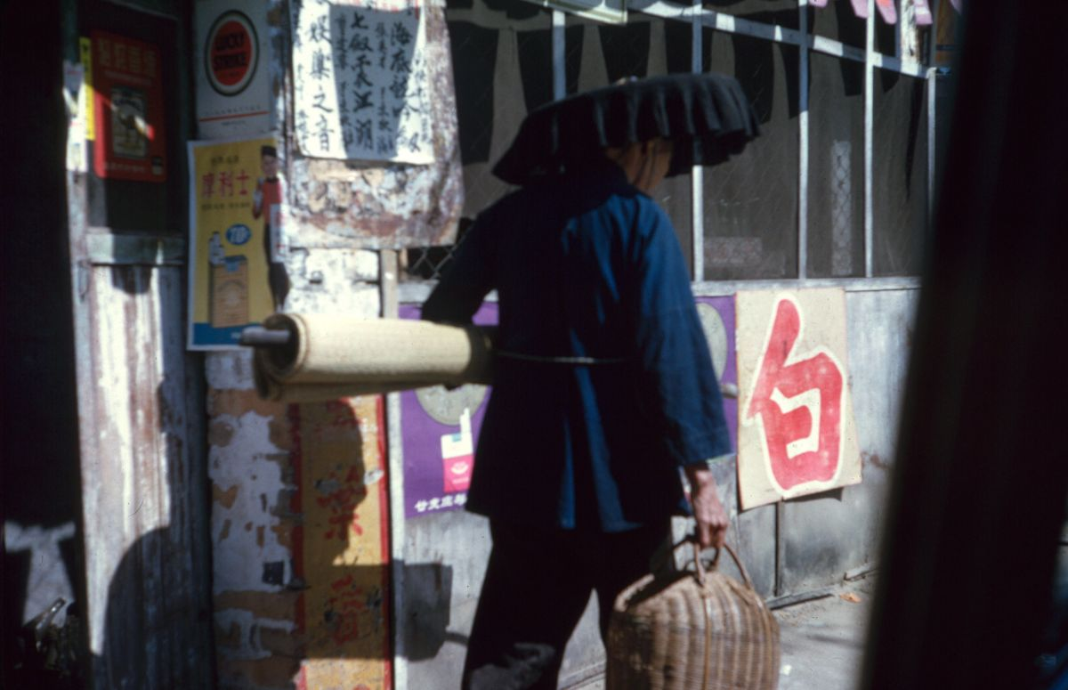 Цветные фотографии повседневной жизни Гонконга 1960-х годов