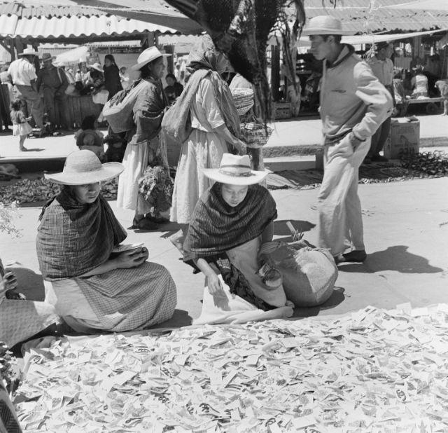Фотографии Мексики в 1952 году