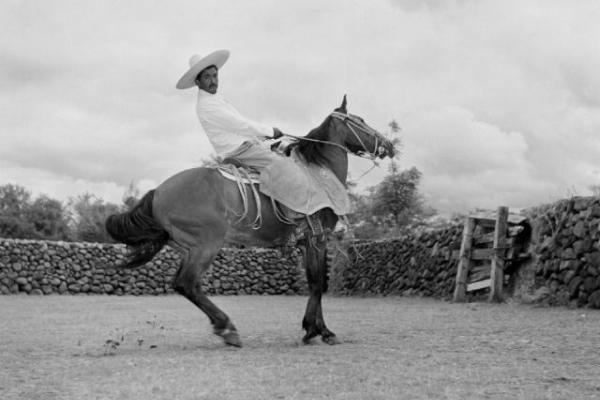 Красивые чёрно-белые фотографии Мексики в 1952 году