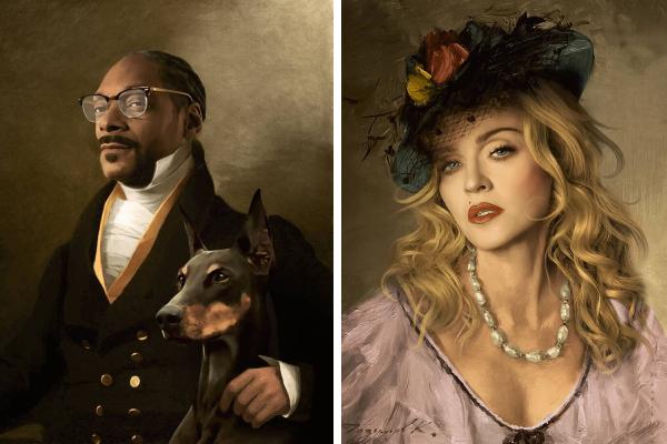 Что, если бы современные знаменитости жили в эпоху Возрождения
