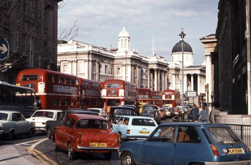 Яркие фотографии улиц Лондона 1970-х годов