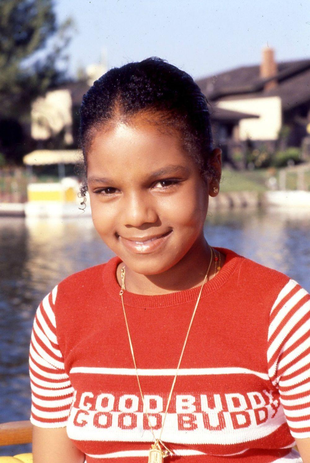 Молодая Джанет Джексон в 1978 году