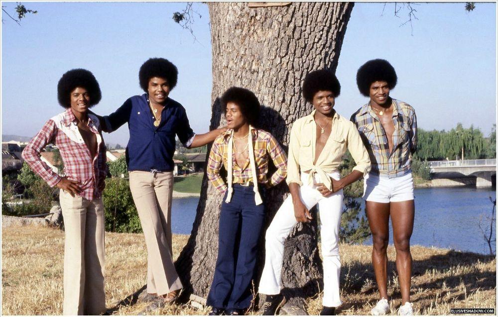 Молодой Майкл Джексон в 1978 году