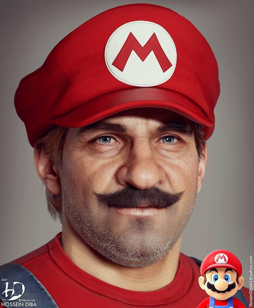 Марио из «Супер Марио»