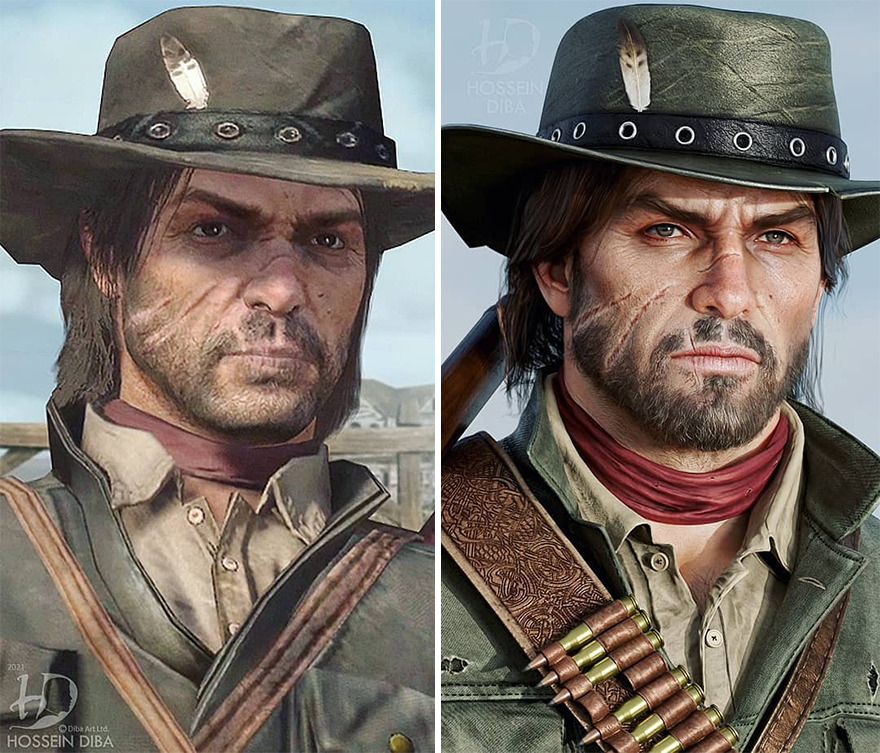 Джон Марстон из «Red Dead Redemption»