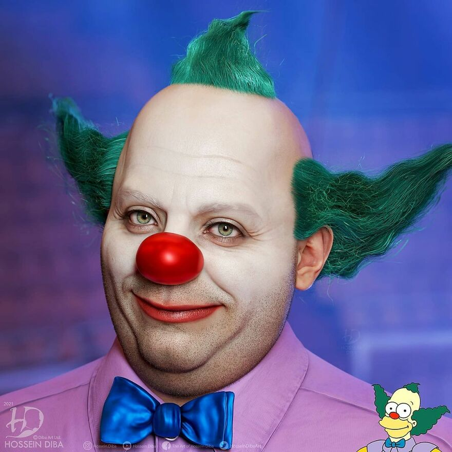 Клоун Красти из «Симпсонов»