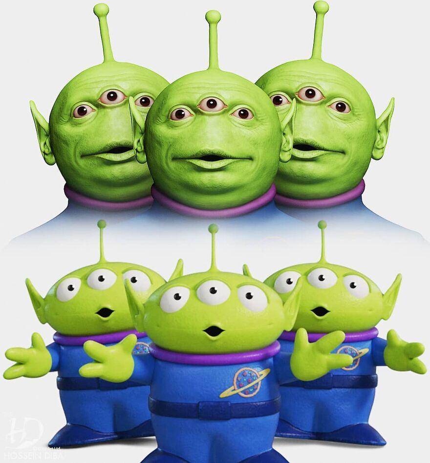 Пришельцы из «Истории игрушек»