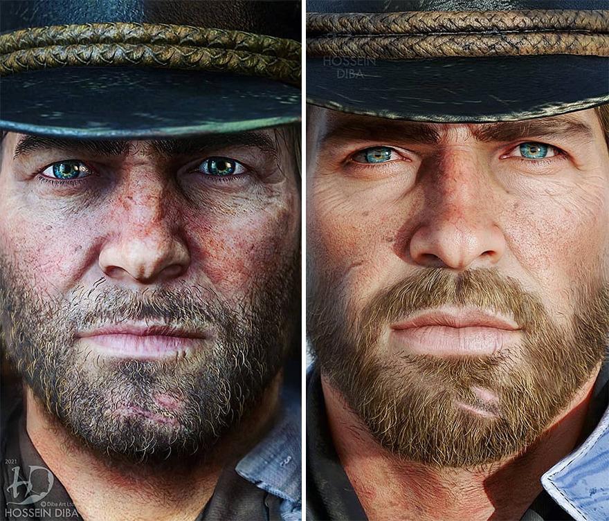 Артур Морган из «Red Dead Redemption 2»