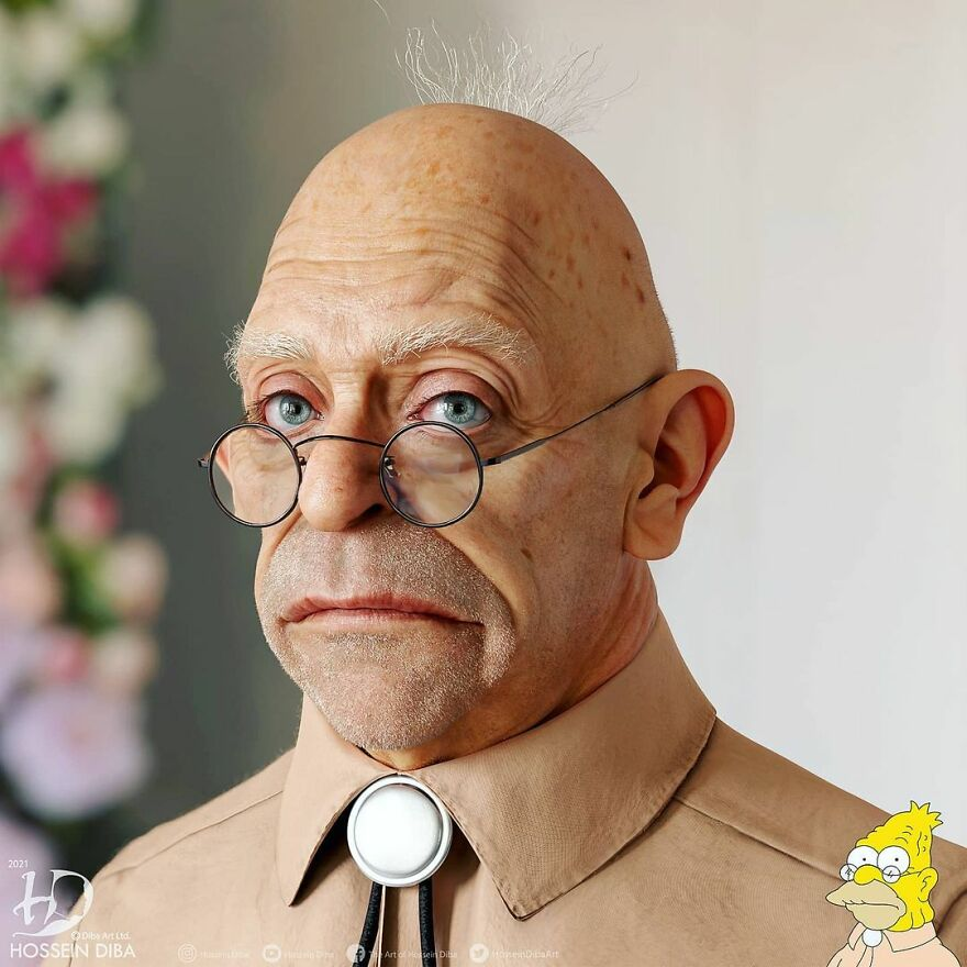 Абрахам Симпсон из «Симпсонов»