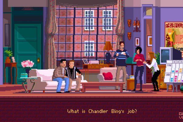 Пиксельные игровые сцены на основе популярных сериалов и фильмов