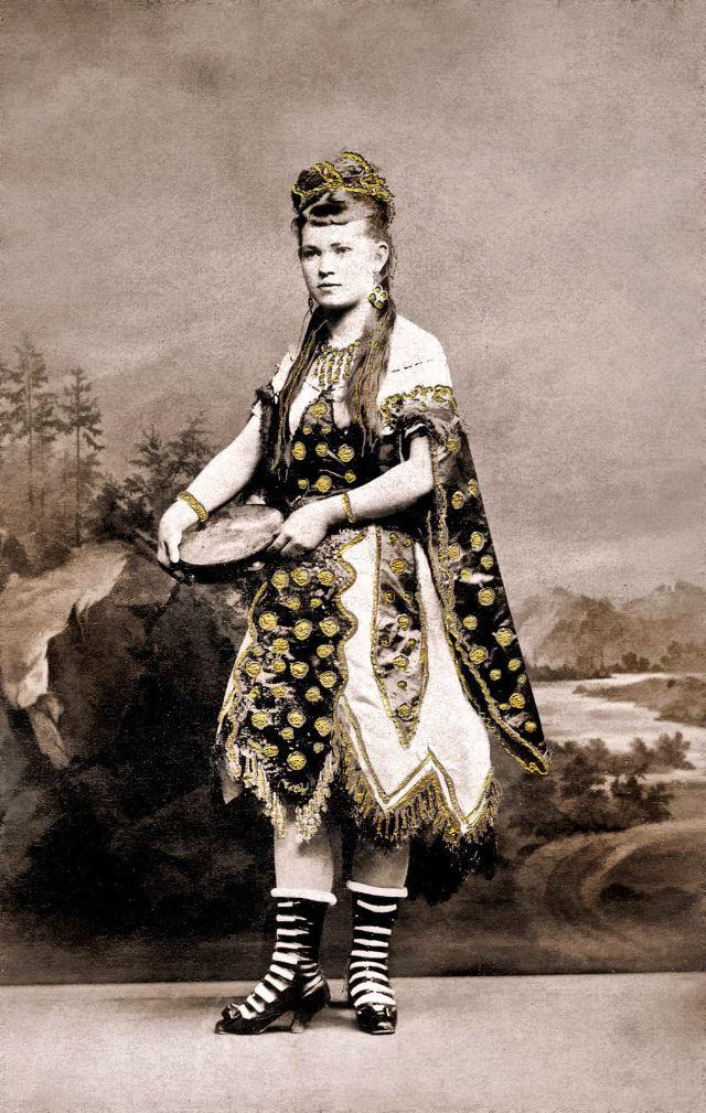 Моравская дама, около 1870-х годов