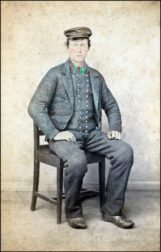 Норвежский костюм. Мужчина из Модалена, около 1870-х годов