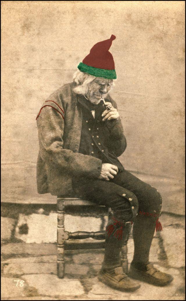 Норвежский костюм. Мужчина из Ролдала, около 1870-х годов