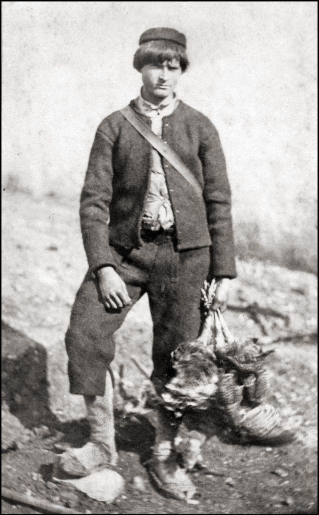 Румынский костюм, 1865 год
