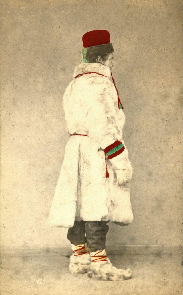 Норвежский костюм. Мужчина из Финляндии, около 1870-х годов