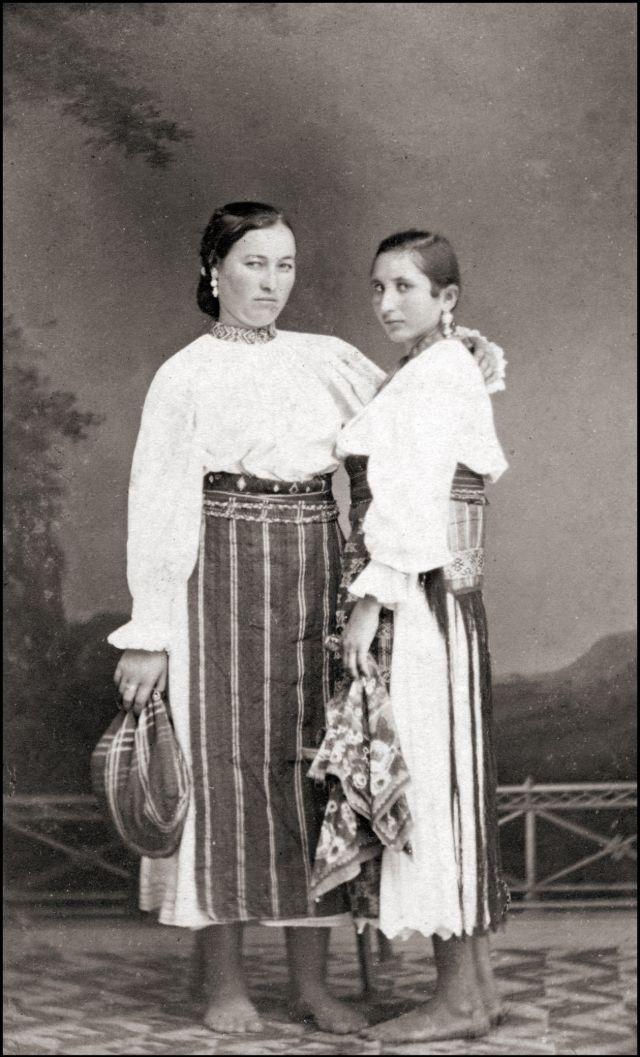 Румынские костюмы, 1867 год
