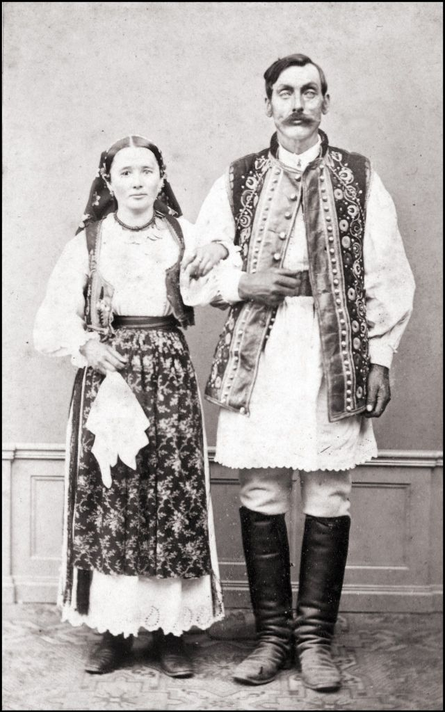 Румынские костюмы, 1868 год